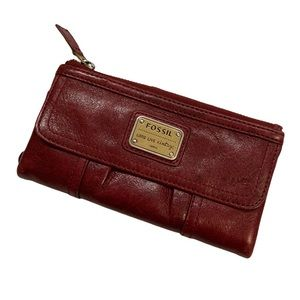 Fossil Emory Leather Wallet